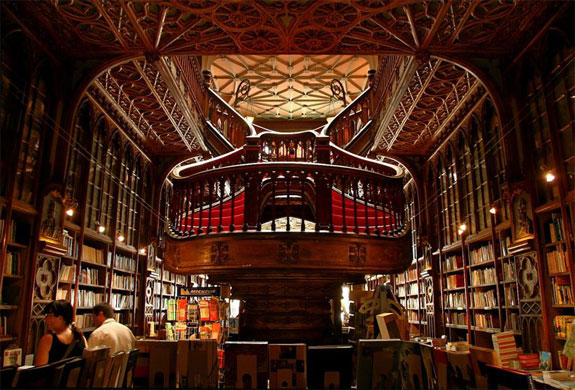 lello bookstore 1 The World's 6 Coolest Looking Bookstores