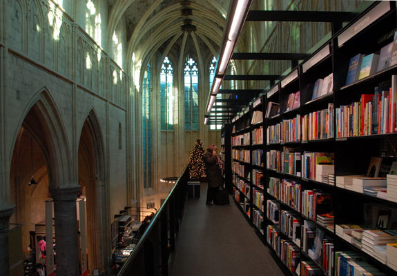 selexyz dominicanen 1 The World's 6 Coolest Looking Bookstores