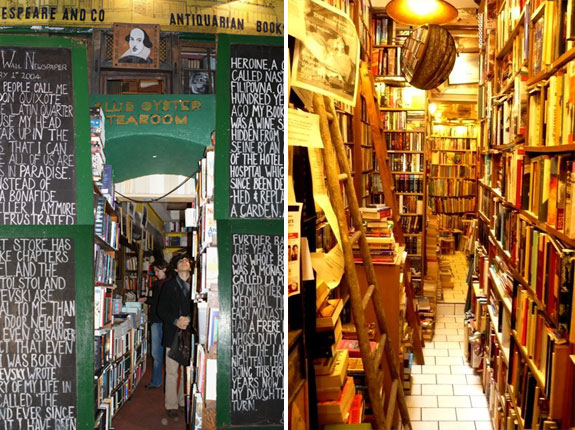 shakespeare paris 2 The World's 6 Coolest Looking Bookstores
